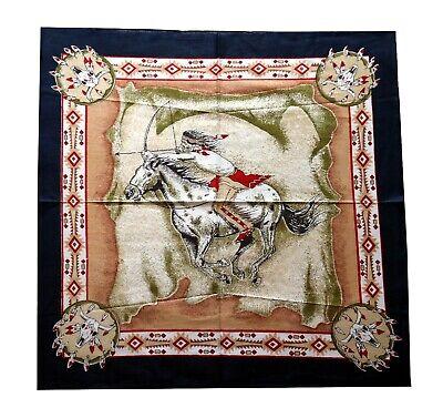 Bandana Cowboy Native USA Biker Halstuch 54x54 cm Indianer Pferd Tuch Kopftuch