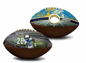 Melvin Gordon Los Angeles Chargers NFL Full Size Official Premium Football