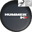 """Sticker Spare Tire Cover 16/"""" For HUMMER H3 Wheel 30/"""" 31/"""" Heavy Vinyl Protector"""