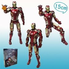 "THE AVENGERS 2/ FIGURA IRON MAN MARK 43 16 CM- AGE OF ULTRON 6,3"" IN BOX"