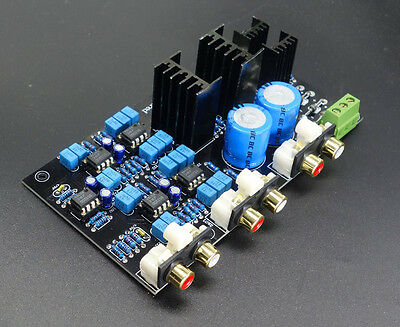 Preamplifier Class A power supply electronic Divider board Linkwitz-Riley Filter