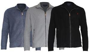 Rib ricamo lunga Logo Uomo Ralph Estate Jacket manica Sweat Polo Lauren wgqYqZ