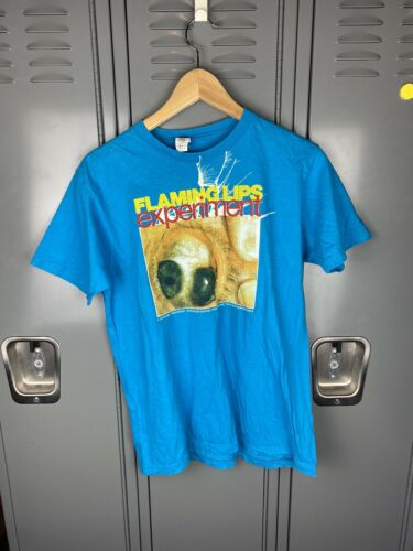 Vintage Retro Flaming Lips Experiment T Shirt Medi