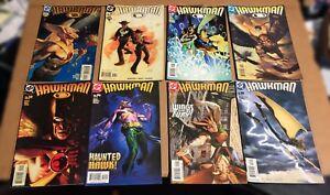 HAWKMAN-VF-LOT-42-DC-2002-07-Set-collection-Hawkgirl-1-Palmiotti-secret-files