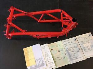 D32-Ducati-1098-S-1198-S-848-Rahmen-mit-Brief-Typenschein