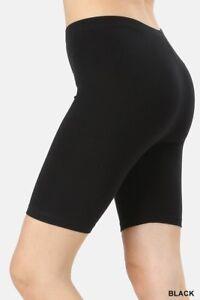 Détails sur Bottes Biker Short Leggings mi cuisse coton épais Yoga Pantalon Fitness Bermuda afficher le titre d'origine