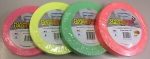 4-pack-of-Neon-Fluorescent-Gaffer-Tape-Stylus-511-24mm-x-45m