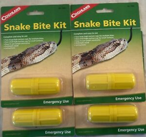4 PK SNAKE BITE KIT CAMPING EMERGENCY SURVIVAL FIRST AID VENOM STING EXTRACTOR#2