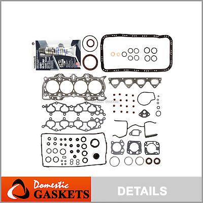 NEW 90-01 Acura Integra 1.8L B18A1 B18B1 DOHC Cylinder Head Gasket Set *GRAPHITE