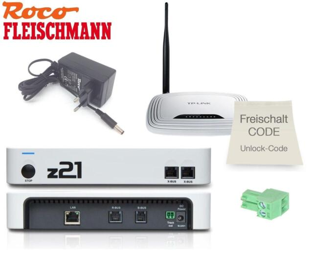 Roco  Fleischmann 10825 Digitalzentrale Z21 start incl Netzteil  Topp