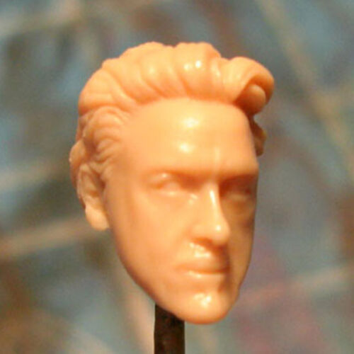 """MH143 Custom Cast Sculpt part Male head cast for use with 3.75/"""" action figures"""