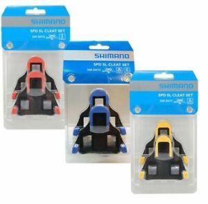 Shimano SM-SH10/11/12 Cleat Set 0/2/6° Float SPD-SL Road Bike Pedal Cleats US