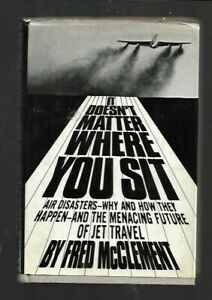 """K4-  """"It Doesn't Matter Where You Sit""""  AIR AIRLINES JETS DISASTERS CRASHES 1969"""