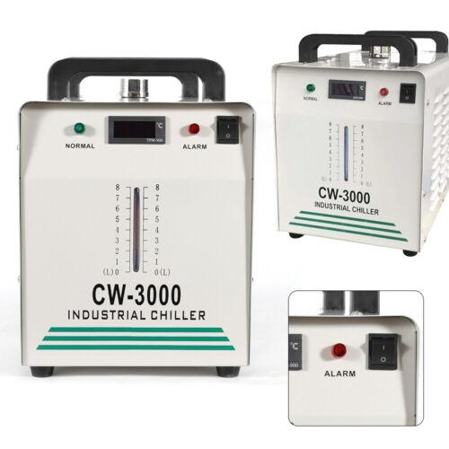 50W//℃ Industrielle Wasserkühler CW-3000 Water Chiller CO2 Laser Schlauch 9LTank