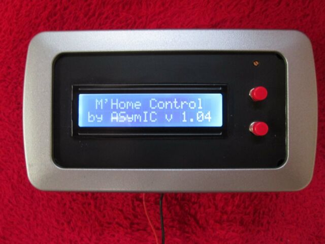Motorhome Camper Boat Control Unit Battery Monitor Panel. Plans with Software