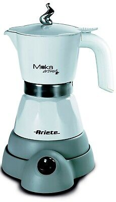 Ariete 1358 WH Electric Moka Aroma Coffee Machine WHITE 480W | eBay