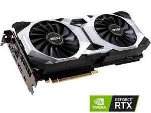 MSI GeForce RTX 2080 DirectX 12 RTX 2080 VENTUS 8G OC 8GB 256-Bit GDDR6 PCI Expr