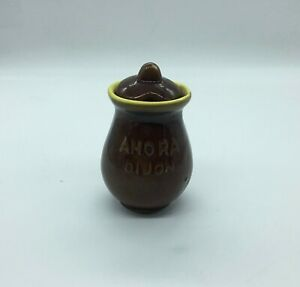 Vintage-Small-Pot-IN-Mustard-Amora-Dijon-Ceramic-Vallauris-Height-8-5-CM