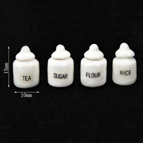 1:12 Miniatures porcelain eating jar dollhouse DIY dolls house decor accessor HF