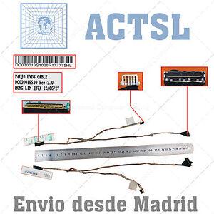 Cable De Video Lcd Flex Para Acer Aspire 4830 7srktiod-08003953-497901018