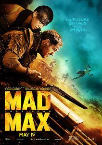 MAD MAX FURY ROAD MOVIE POSTER MAIN FILM A4 A3 ART PRINT CINEMA