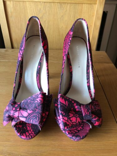 With 4 Karen Sz10 Shoe Clutch Pink dress amp; Millen Black Available Size gqZg0w