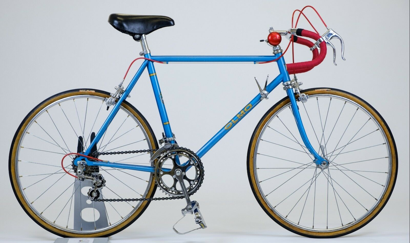 Vintage steel Olmo Eroica Jeunes Enfants Vélo faite à la main collectionneurs objet rare