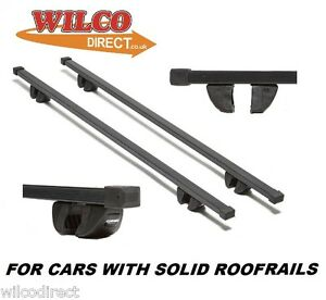 Summit Roof Bars Rack With Solid Roof Rails Vauxhall