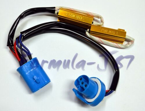 Wire HID Resistor Canceler Error Decoder 9007 HB5 Flicker Fix Plug Play Lamp