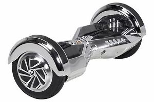 E-Balance-Board-ROBWAY-W2-CHROM-EDITION-Hoverboard-Skateboard-8-Reifen-CHROME-3T