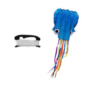 4m-Octopus-Kite-100m-Flying-Kite-Schnur-D-Shape-Winder-Board-Outdoor