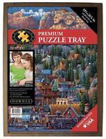 Dowdle Folk Art Premium Puzzle Tray 19.25 × 26.625 Fits Up To 1000 Pcs 61997