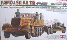 Tamiya 35246 1/35 German 18 ton Heavy Half-Track FAMO & Tank Transport