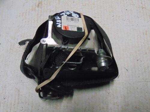VAUXHALL ZAFIRA B 06-12 560834901 D 5 porte ceinture passager gauche FRONT Seatbelt