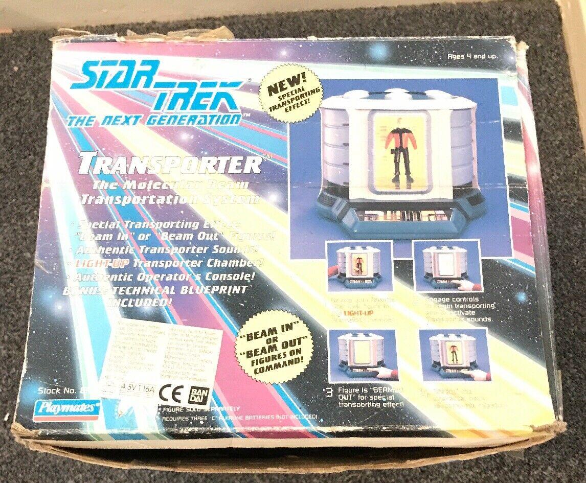 Star Trek The Next Generation Transporter Playmates TNG Boxed