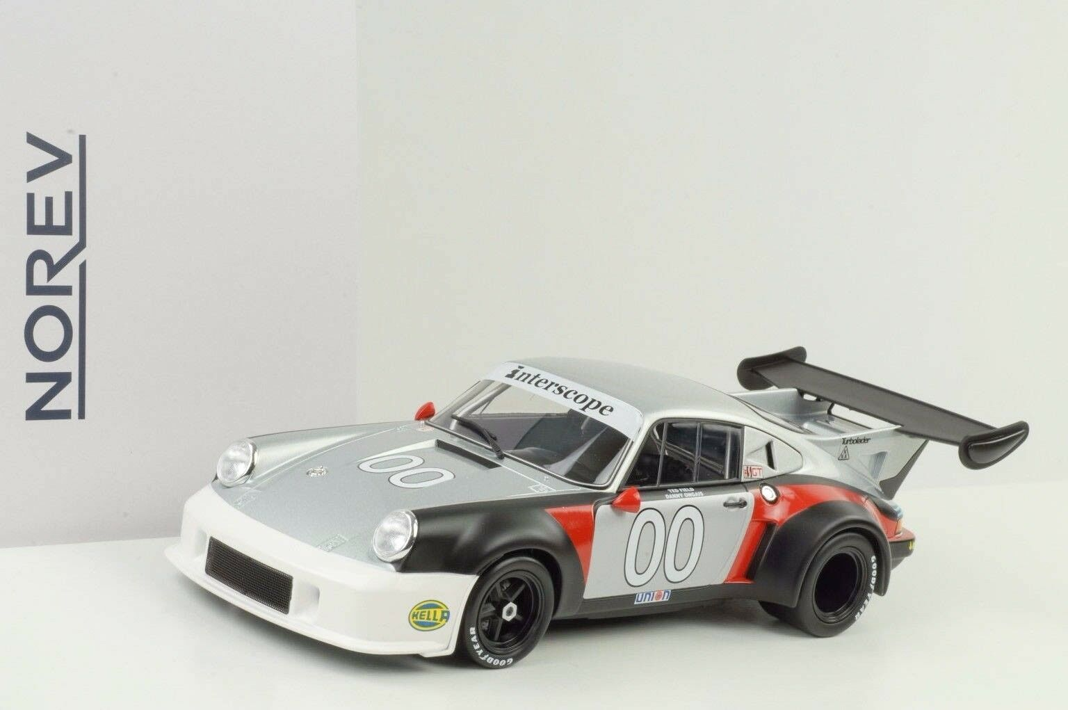 1977 Porsche 911 RSR turbo turbo turbo 2.1 H Daytona ogais Follmer Field 1 18 Norev 655656