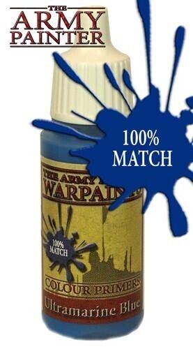 El pintor del ejército Warpaints azul ultramarino apwp 1115