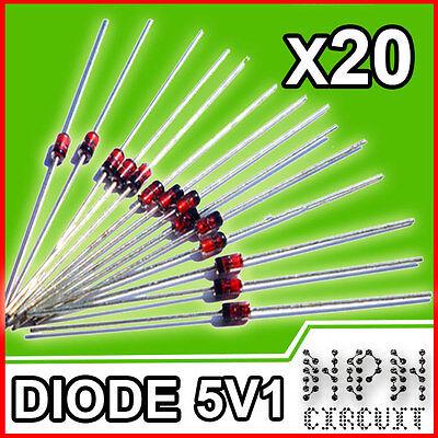 Diodi Zener 5W 6.2V