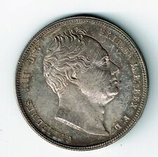 GREAT BRITAIN 1834 1/2 HALF CROWN KING WILLIAM IV EF WW IN SCRIPT SEE PICTURES