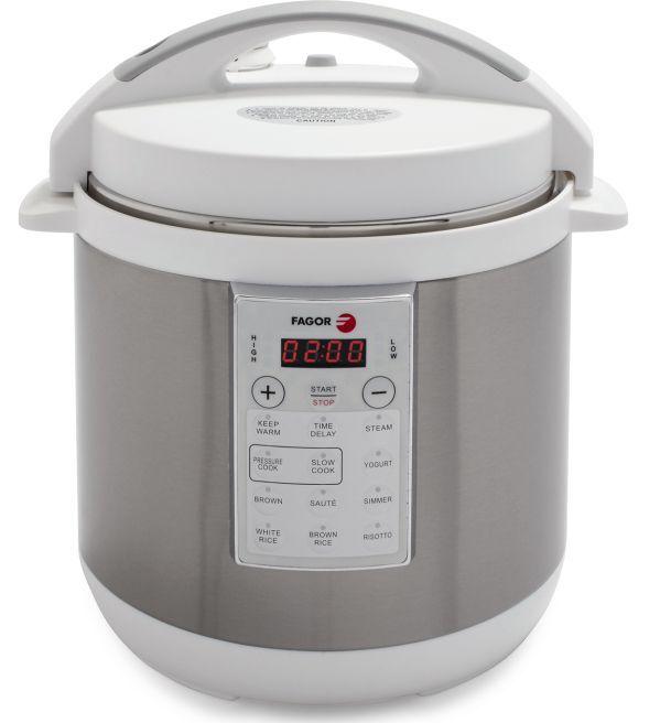 Programmable multi Cuisinière Pression Rapide Lent riz yaourt 6-Qt bol en céramique Fagor