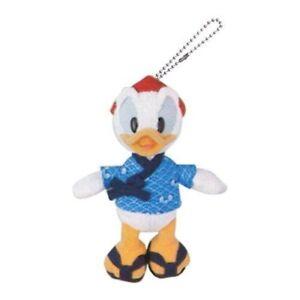 Donald-Duck-big-size-stuffed-toy-badge-yukata-kimono-summer-festival-Tokyo-F-S