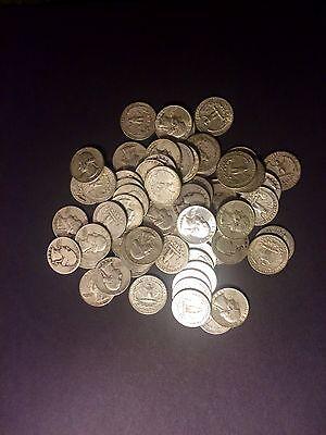 Mint Circulated Silver MIX Coin 6 POUND Quarter Dime Oz 90/% U.S Pre 65 ONE 1
