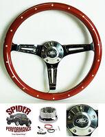 1969 Ford Pickup Steering Wheel Ford Wood 15