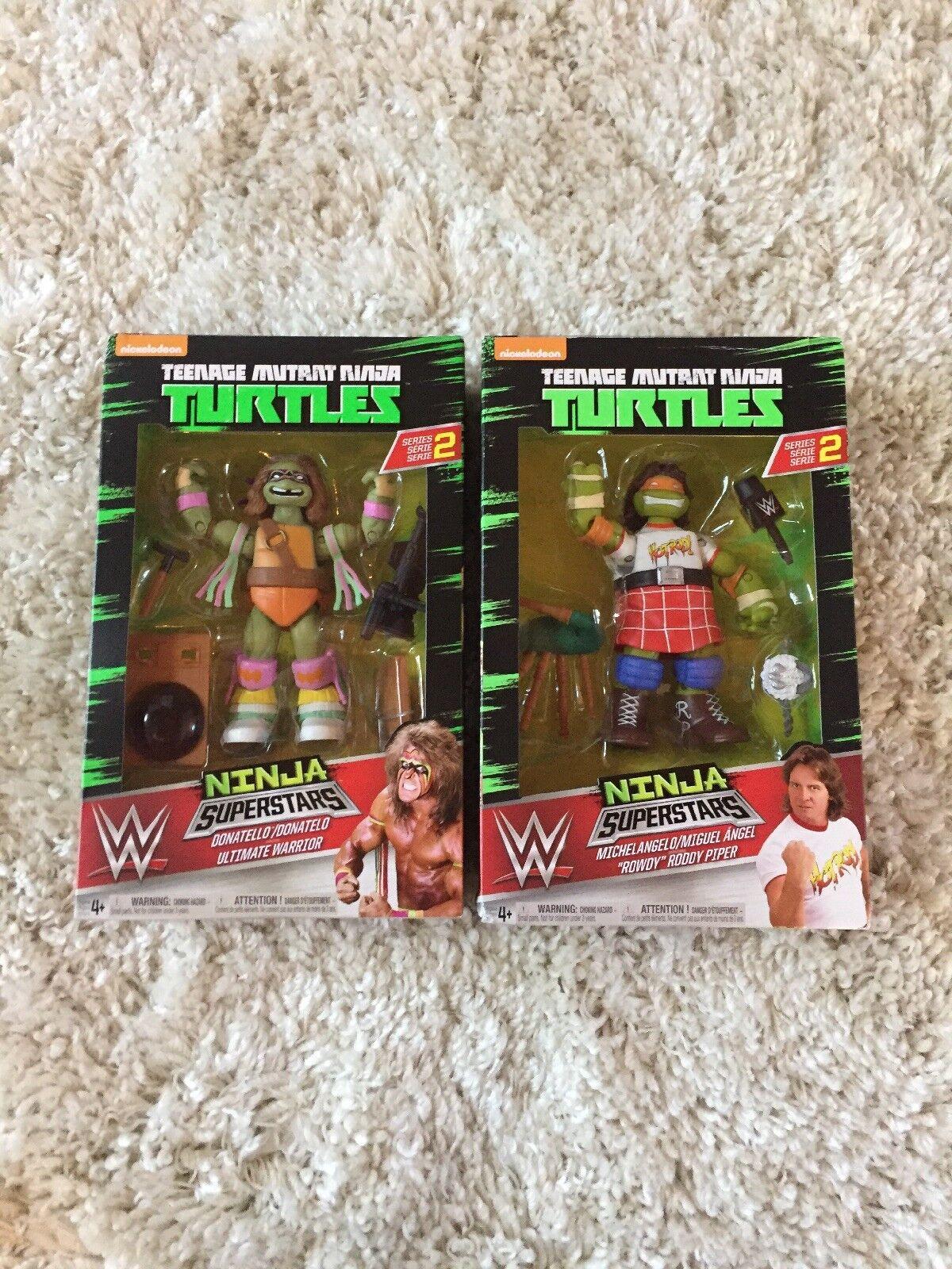 Teenage Mutant Ninja Turtles Donatello Ultimate Warrior Michelangelo Rowdy Roddy