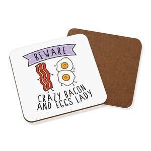 Beware-Loco-Bacon-Y-Huevos-Mujer-Posavasos-Chiste-Divertido-Desayuno-Comida