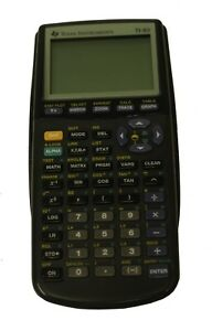 Texas Instruments TI-83 Plus Graphing Calculator - Working - Few dead pixels