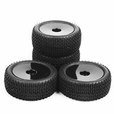 4X 1:10 RC12mm Hex Front&Rear Tyre Tire Wheels Rims For Buggy Off-Road Car HSP