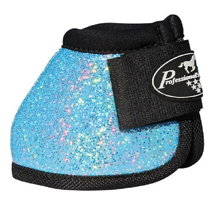 Pro Choice Turquoise Glitter no turn bell boots Medium M Prof