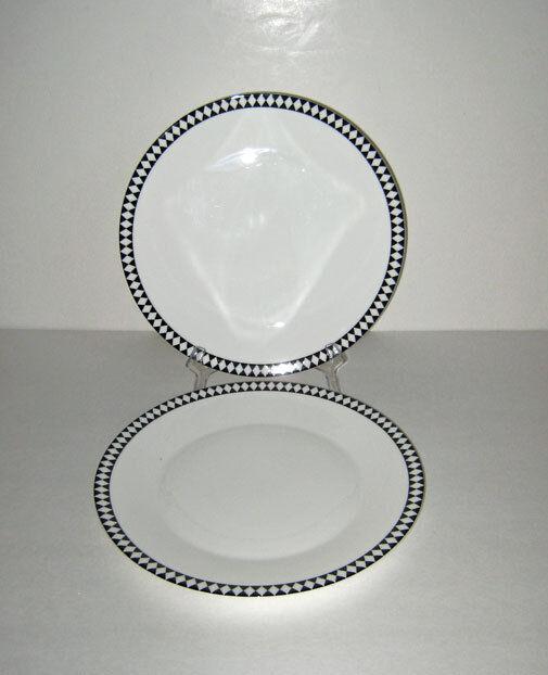2 wedgwood Jasper Conran MOSAIC DINNER PLATES - new