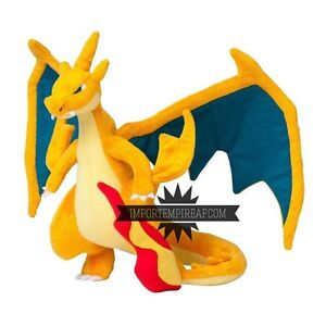 Details About Pokemon Megacharizard Y Plush Mega Charizard Dracaufeu Glurak Evolution Plush Show Original Title